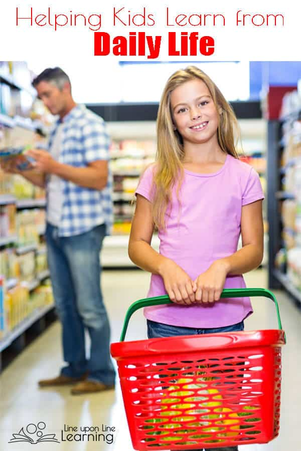 Including elementary-aged kids in your daily life, including errands, helps them learn self-sufficiency and develop confidence in their decision making process.