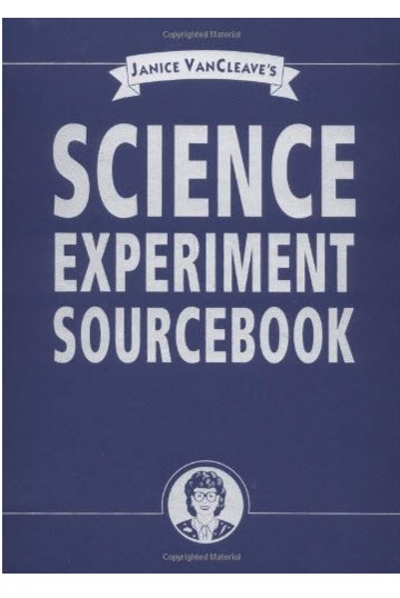 Science Experiment Sourcebook