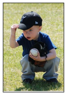 Young Boy Baseball