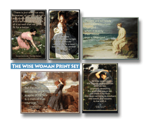 The Wise Woman Print Set