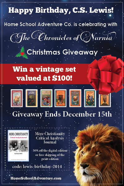 The Chronicles of Narnia Christmas Giveaway