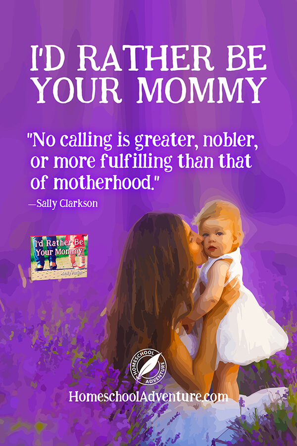 No calling is greater than motherhood.