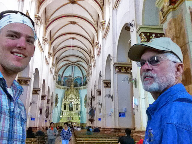 Russell and Gary in Quito