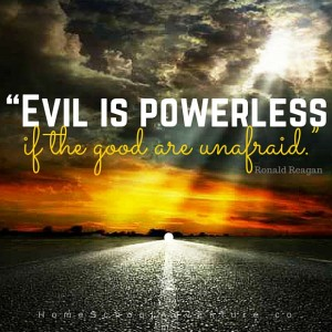 Evil-is-powerless