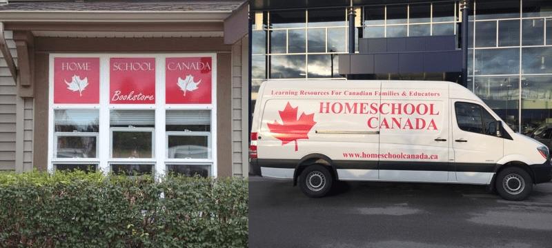 Homeschool Canada shop location Surrey BC