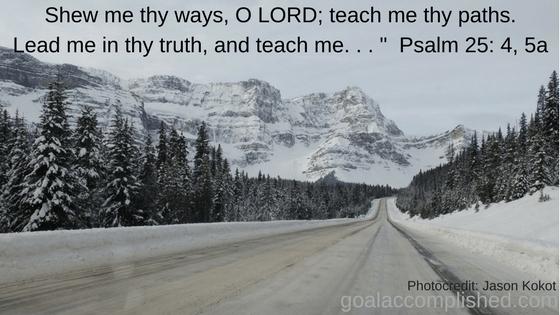 Prayer Journal: Road to Jasper, BC