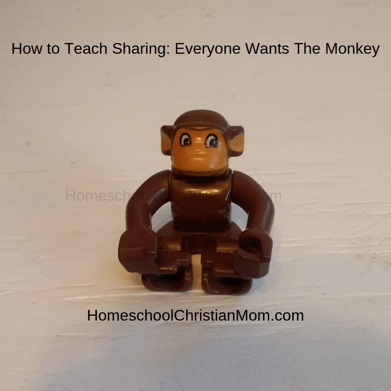 Teaching Sharing: 1 Way a Monkey Can Teach Sharing