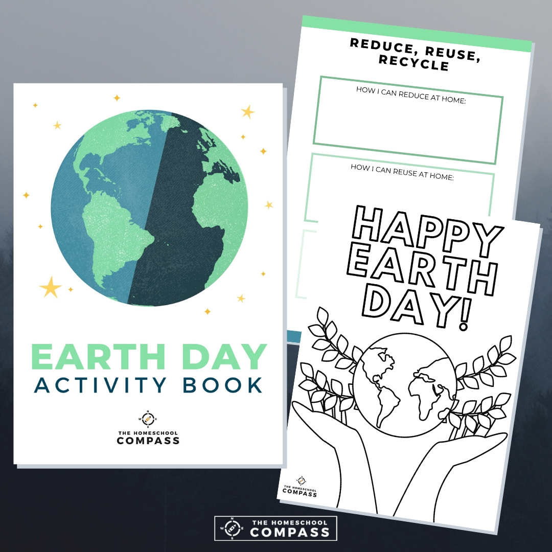 Free Earth Day Activity Book