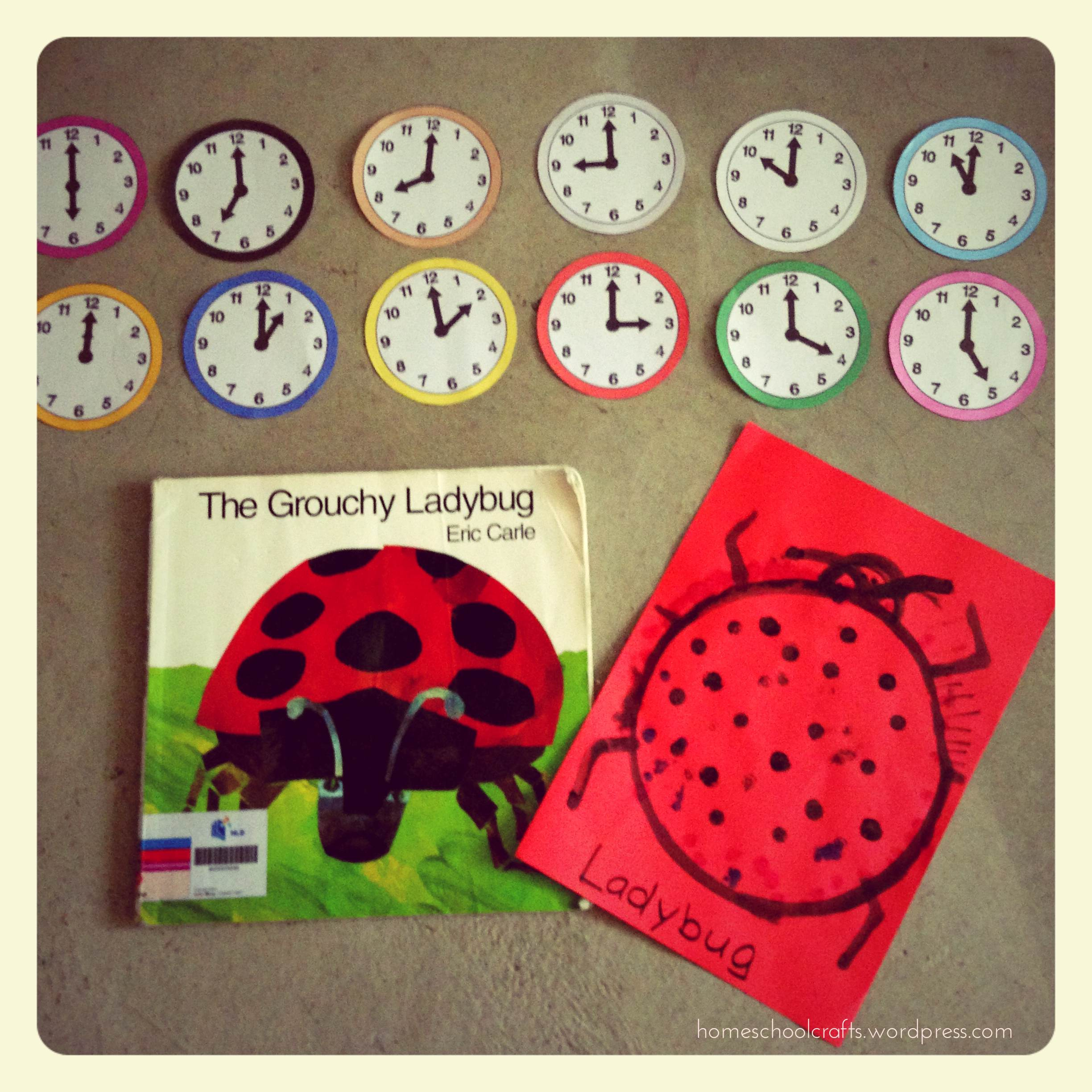 The Grouchy Ladybug Activities Homeschool Crafts