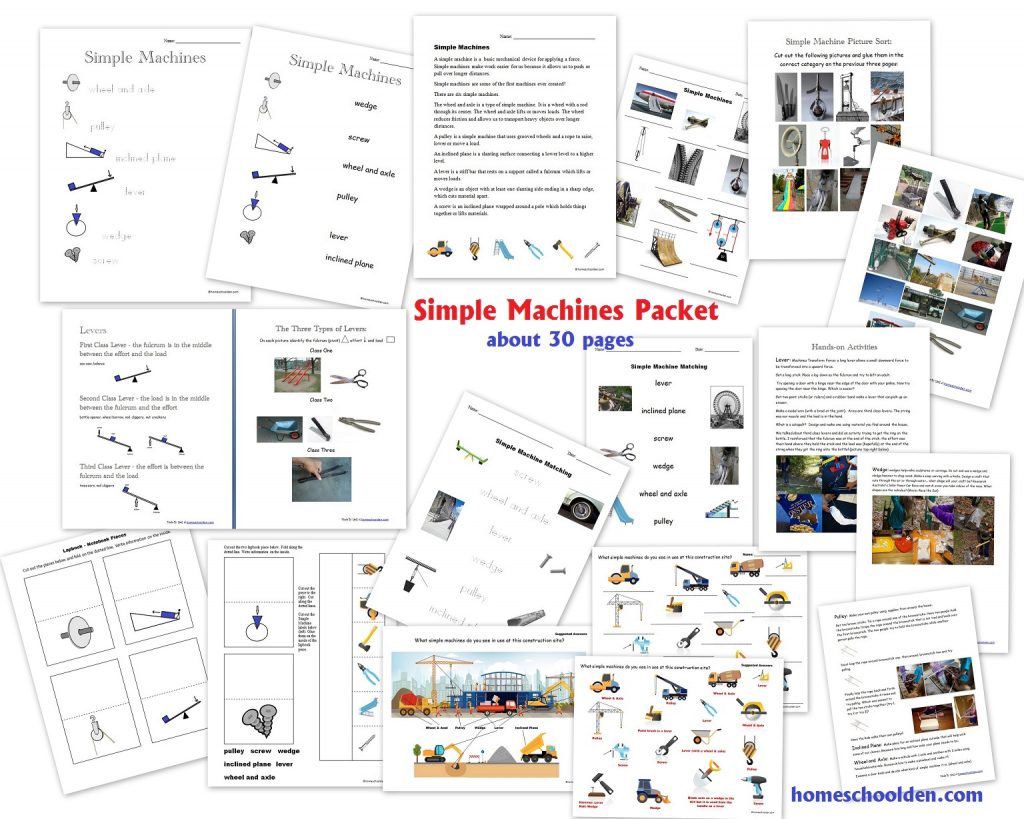 Simple Machine Packet