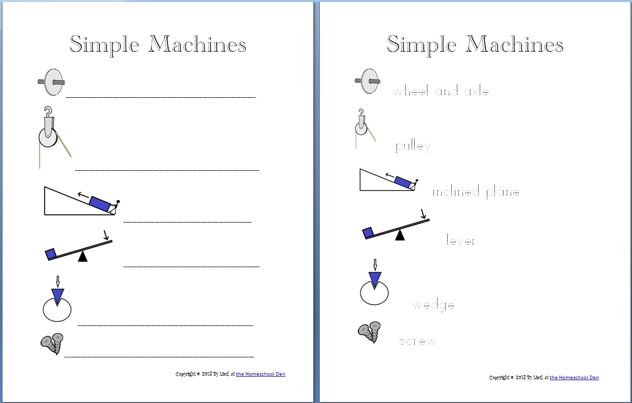 Simple Machine Packet