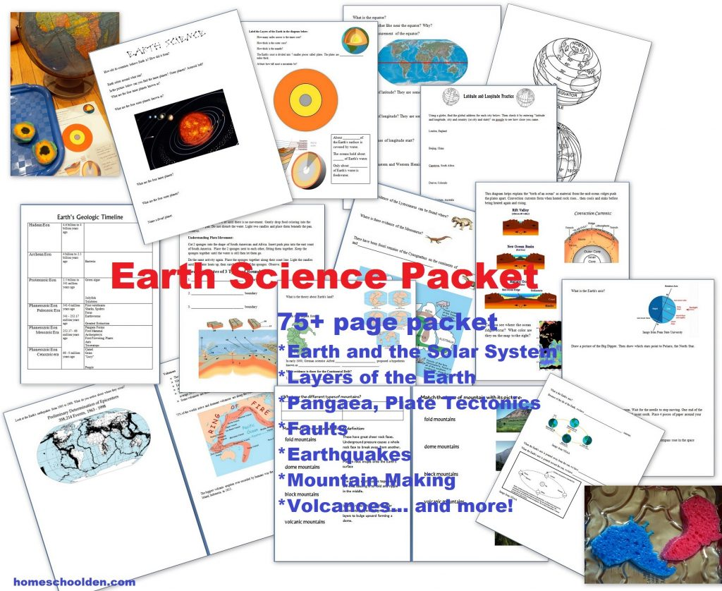 Free Earth Science Packet Earth S Atmosphere 19 Pages