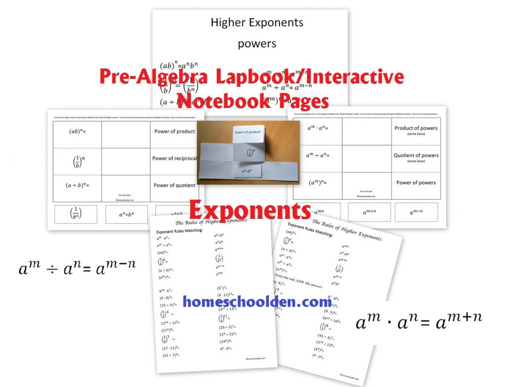 Prealgebra In Our Homeschool