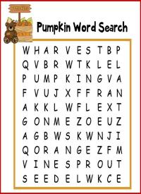 Pumpkin Patch Printable Packet Homeschooled Kids Online