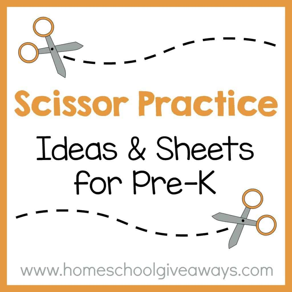 Cutting Practice Worksheets For Preschoolers