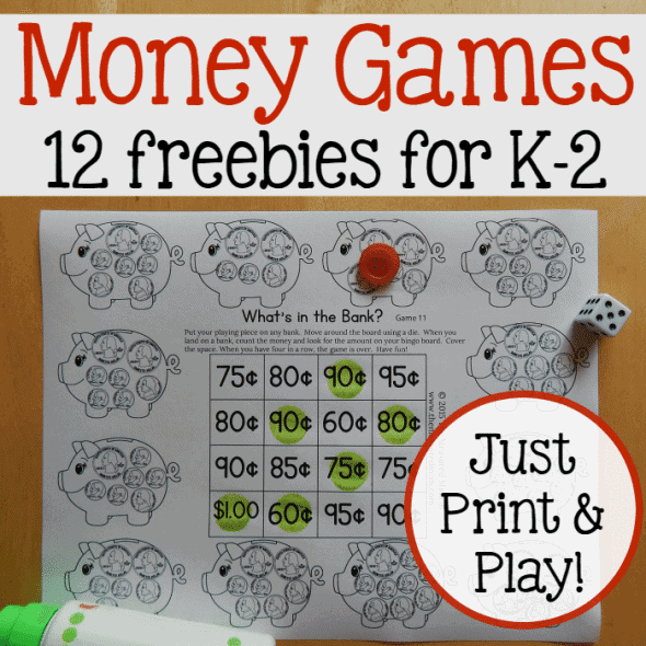 picture relating to Printable Money Games referred to as Free of charge Printable Coin Counting Video games - Homeschool Giveaways