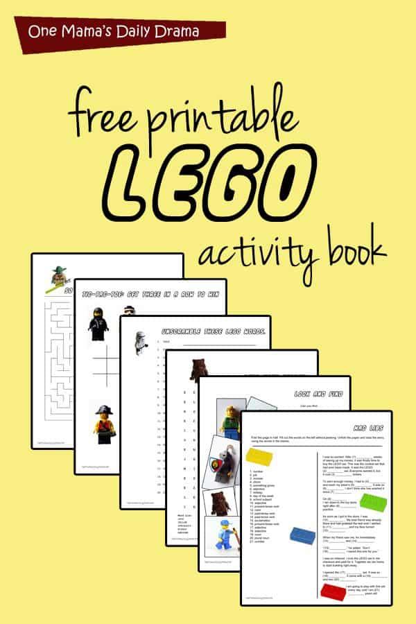 photo regarding Printable Activity Books named Cost-free Printable Lego Sport E-book - Homeschool Giveaways