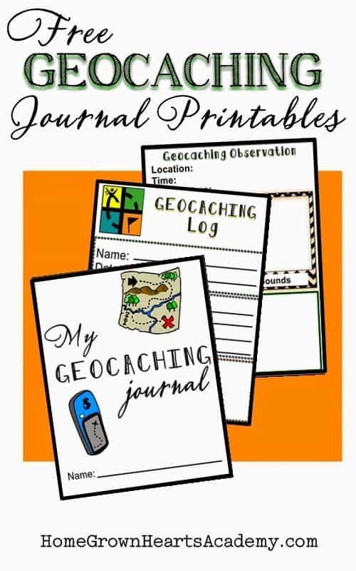 photo about Printable Geocache Log identify Free of charge Geocaching Magazine Printables - Homeschool Giveaways