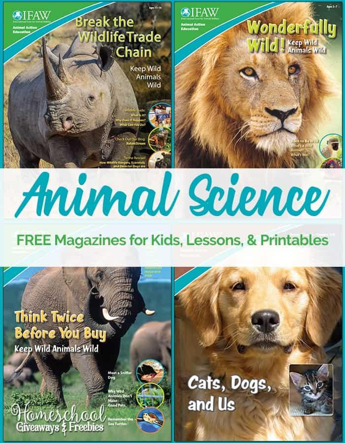 FREE Animal Science Magazines and Printables - Homeschool