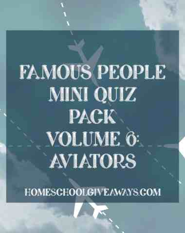 Famous People Mini Quiz Pack Volume 6-Aviators
