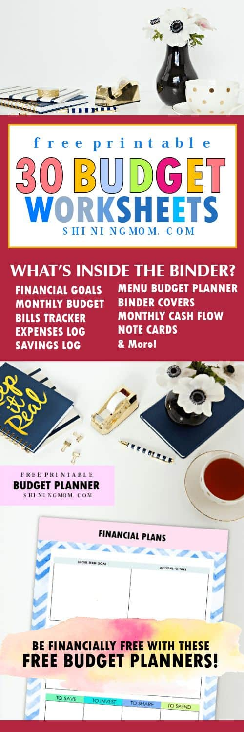 photograph relating to Free Printable Budget Binder identified as The Greatest 2018 Cost-free Printable Price range Binder - Homeschool