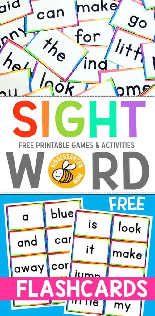 photograph about Printable Sight Word Flashcards With Pictures titled Free of charge Sight Term Flashcards - Homeschool Giveaways