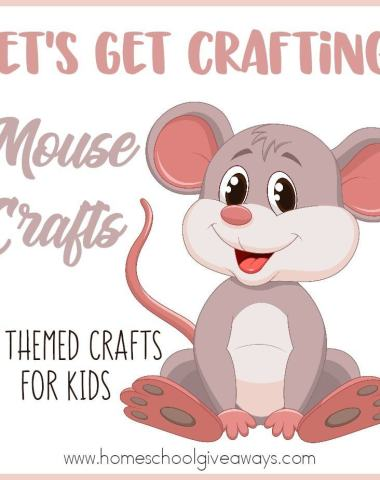 There are some super cute and fun books about Mice. These crafts will pair perfectly with the books as well as some printables and activities! :: www.homeschoolgiveaways.com