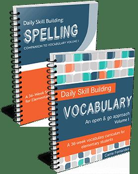 spelling-vocab-menu