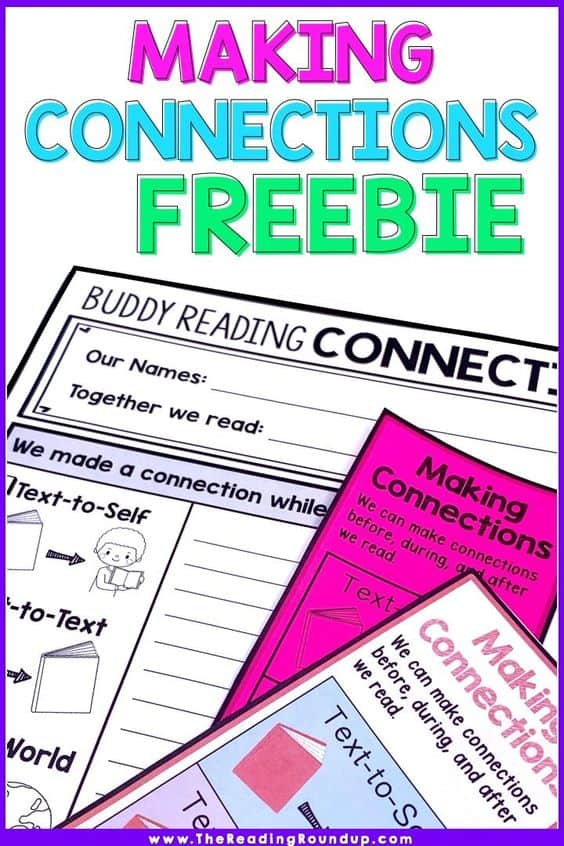 picture about Making Connections Worksheet Printable named Absolutely free Printable Reading through Worksheets Bookmarks - Homeschool