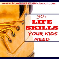 What life skills will my kids need?