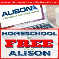 Homeschool for FREE using Alison