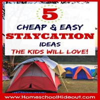 Staycation Ideas Kids Will Love