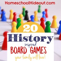 20 History Board Games
