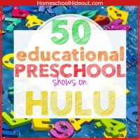 50 Educational Preschool Shows on Hulu