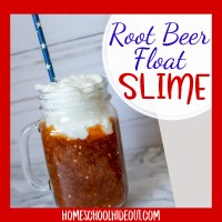 Root Beer Float Slime Recipe