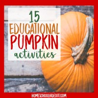 15 Educational Pumpkin Activities for Kids