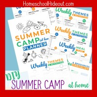 DIY Summer Camp at Home