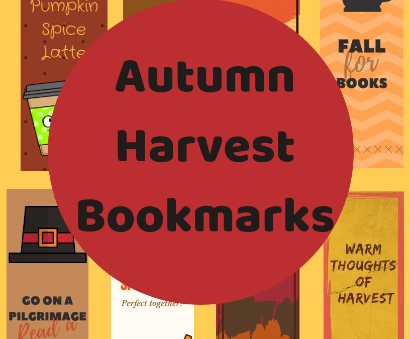 Autumn Harvest Bookmarks