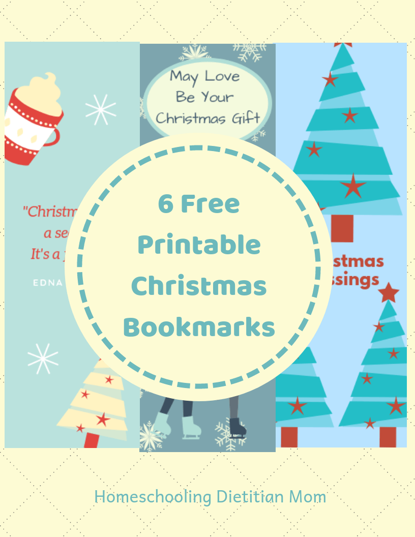 photograph about Printable Christmas Bookmarks called Printable Xmas Bookmarks - Homeschooling Dieian Mother