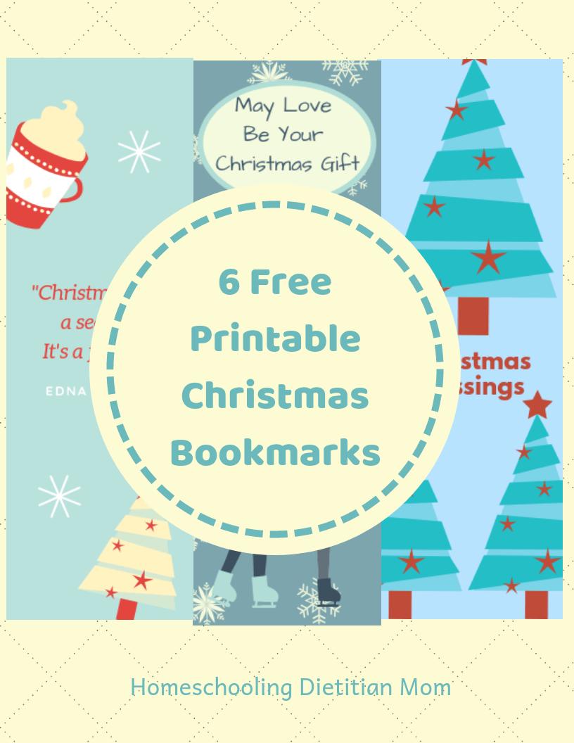 image relating to Printable Christmas Bookmarks named Printable Xmas Bookmarks - Homeschooling Dieian Mother