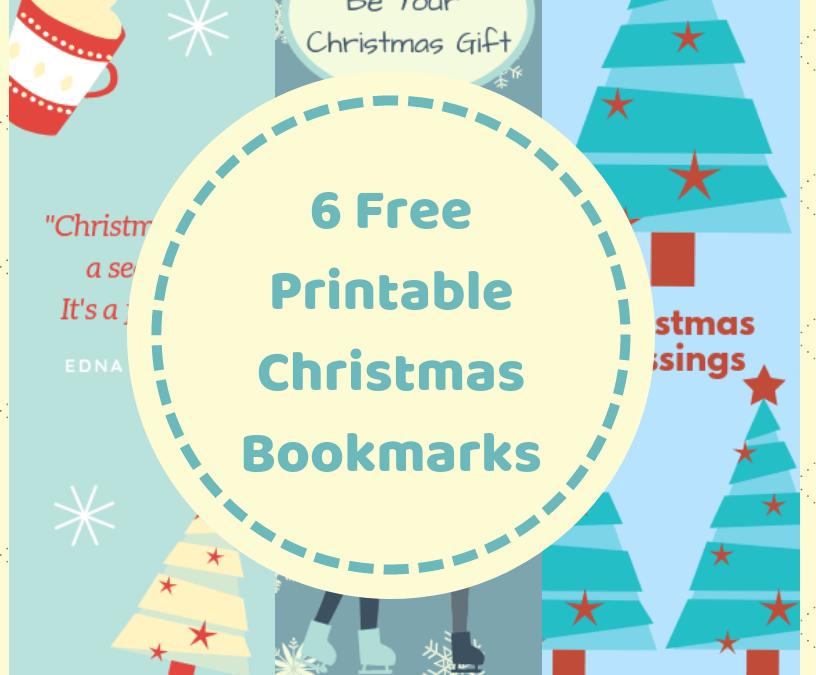 Printable Christmas Bookmarks