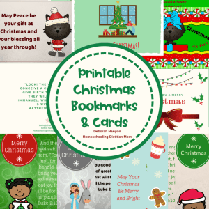 Christmas Kitty Cards with Bonus Bookmarks