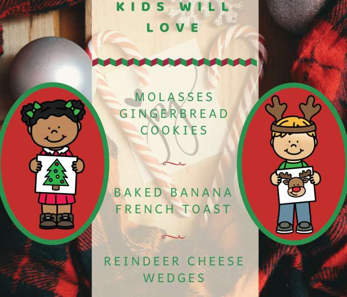 A Healthy Christmas Recipe for Kids