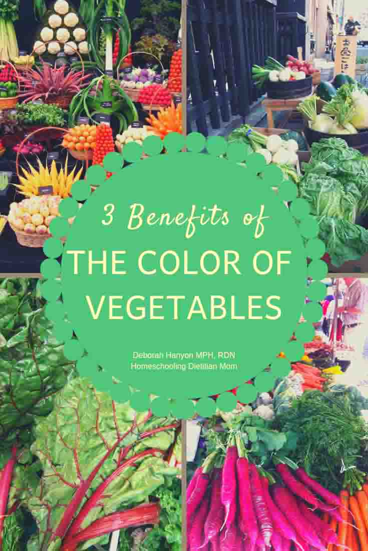 3 Benefits of the Color of Vegetables