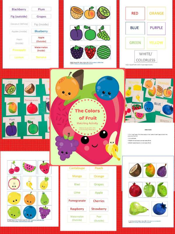 Colors of Fruit