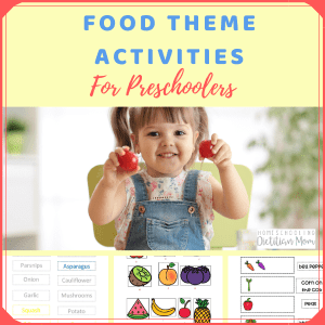 Food Theme Activities for Preschoolers