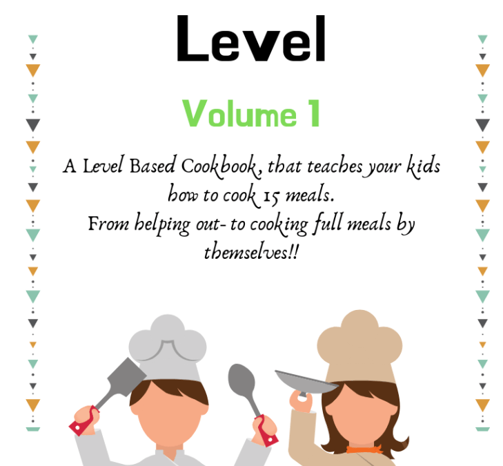 Kids Cookbooks Volume 1- Easy Food