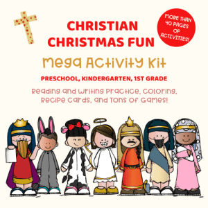 Christian Christmas Activities Pack