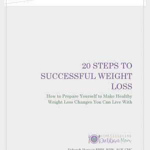 20 Steps to Successful Weight Loss