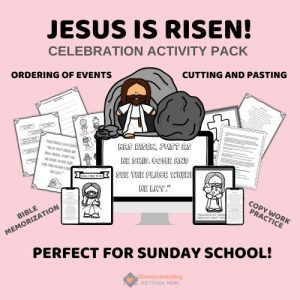 Jesus is Risen Celebration Activity Pack
